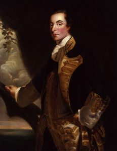 Admiral Sir George Rodney: Rodney's 'Moonlight Battle' at Cape St Vincent on 16th January 1780 in the American Revolutionary War