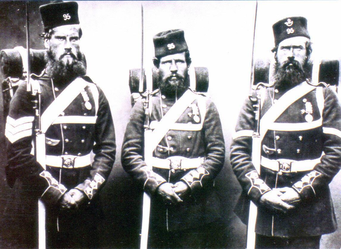 95th Regiment: Battle of Inkerman on 5th November 1854 in the Crimean War