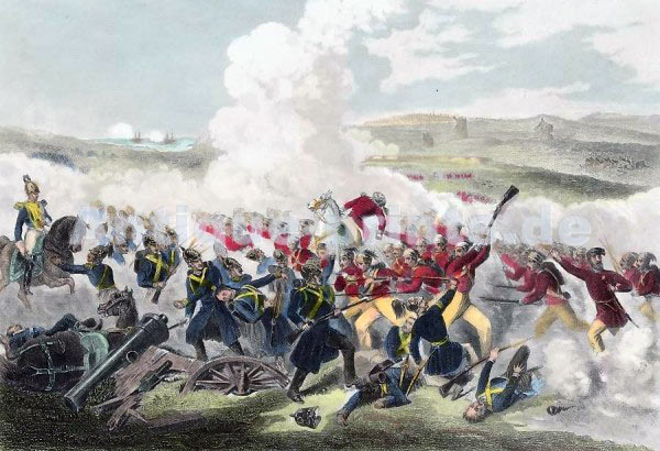 Battle of Eupatoria on 17th February 1855: Siege of Sevastopol September 1854 to September 1855