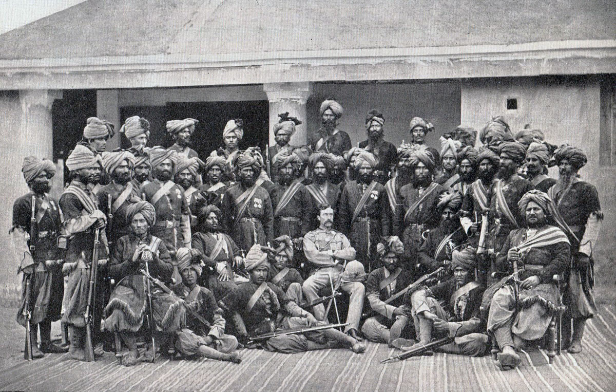 Soldiers of 20th Bengal Native Infantry (Brownlow's Punjabis): Battle of Ali Masjid on 21st November 1878 in the Second Afghan War
