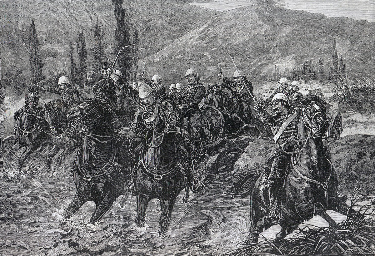 Royal Horse Artillery in the Chardeh Valley: Battle of Kabul December 1879 in the Second Afghan War