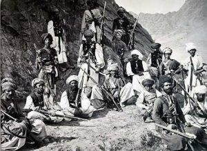 Afghan tribesman: Battle of Ali Masjid on 21st November 1878 in the Second Afghan War