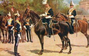 17th Lancers: Battle of Ulundi on 4th July 1879 in the Zulu War: picture by Harry Payne