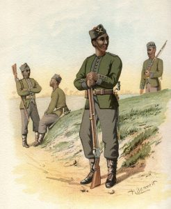 3rd Gurkhas: Battle of Ahmed Khel on 19th April 1880 in the Second Afghan War