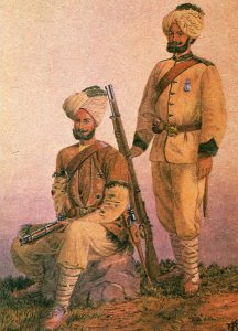 Punjab Infantry: Battle of Kandahar on 1st September 1880 in the Second Afghan War