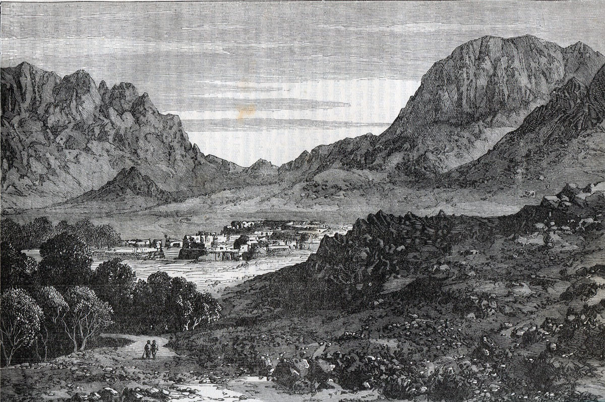 Baba Wali in the Argandhab Valley: Battle of Kandahar on 1st September 1880 in the Second Afghan War
