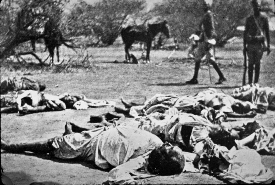 Body of the Khalifa: Battle of Omdurman on on 2nd September 1898 in the Sudanese War