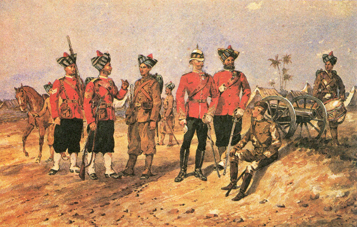 19th Bombay Native Infantry: Battle of Kandahar on 1st September 1880 in the Second Afghan War
