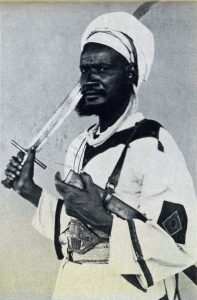 Dervish Emir: Battle of Omdurman on 2nd September 1898 in the Sudanese War