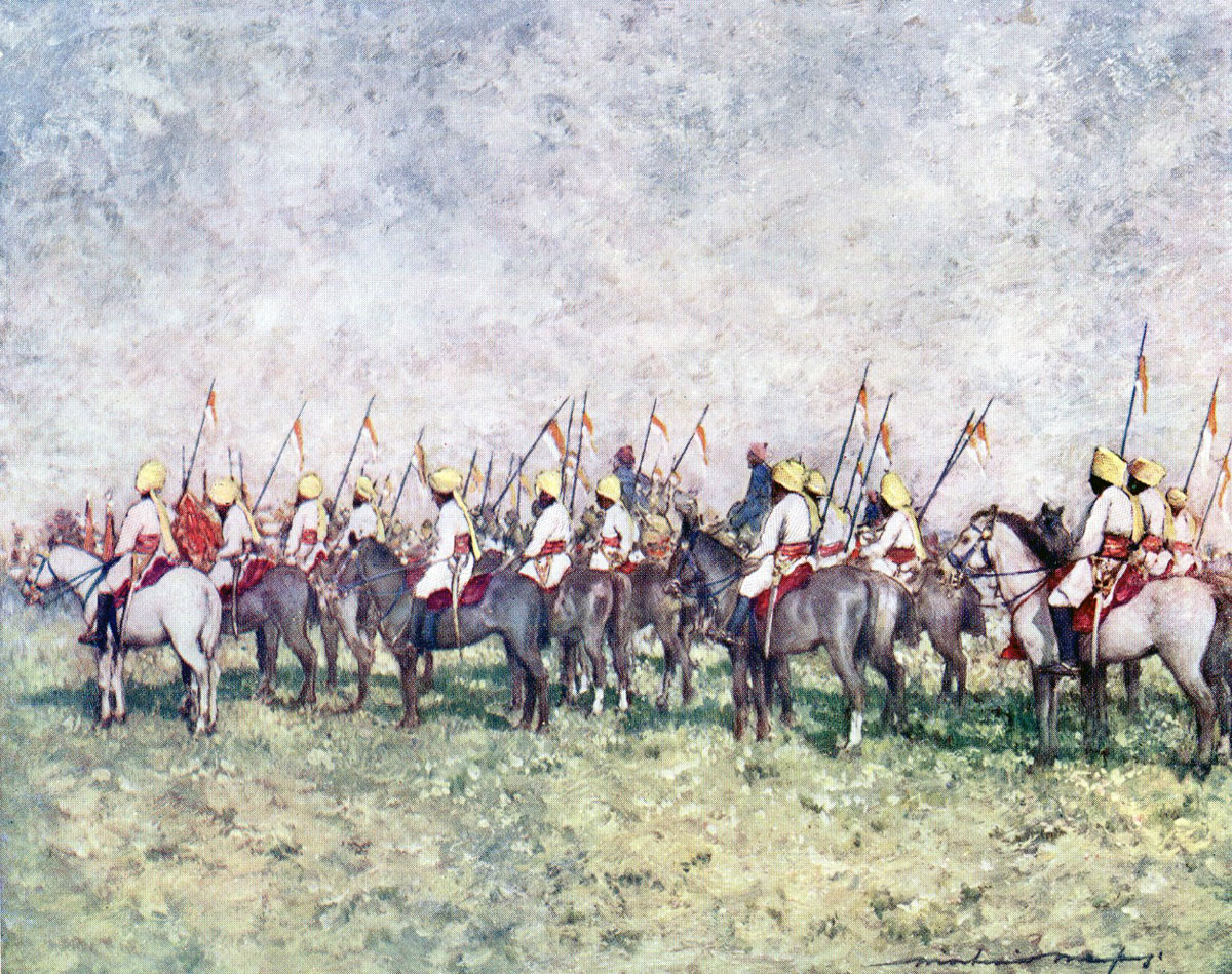 Indian Cavalry Regiment: Battle of Kabul December 1879 in the Second Afghan War