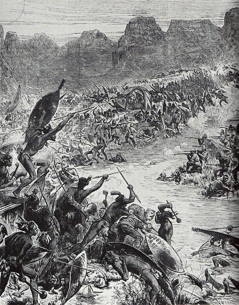 The Ntombi River Disaster on 29th March 1879 in the Zulu War