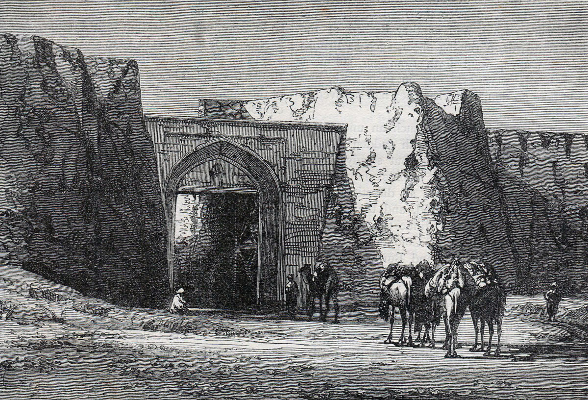 Kandahar North Gate: Battle of Kandahar on 1st September 1880 in the Second Afghan War