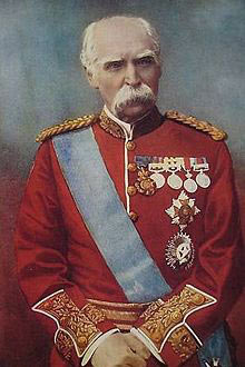 Lieutenant General Sir Donald Stewart, British and Indian commander at the Battle of Ahmed Khel on 19th April 1880 in the Second Afghan War
