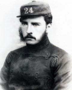 Lieutenant Gonville Bromhead, 24th Regiment, second in command at the Battle of Rorke's Drift on 22nd January 1879 in the Zulu War