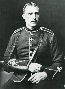 Private Frederick Hitch, winner of the VC at the Battle of Rorke's Drift on 22nd January 1879 in the Zulu War