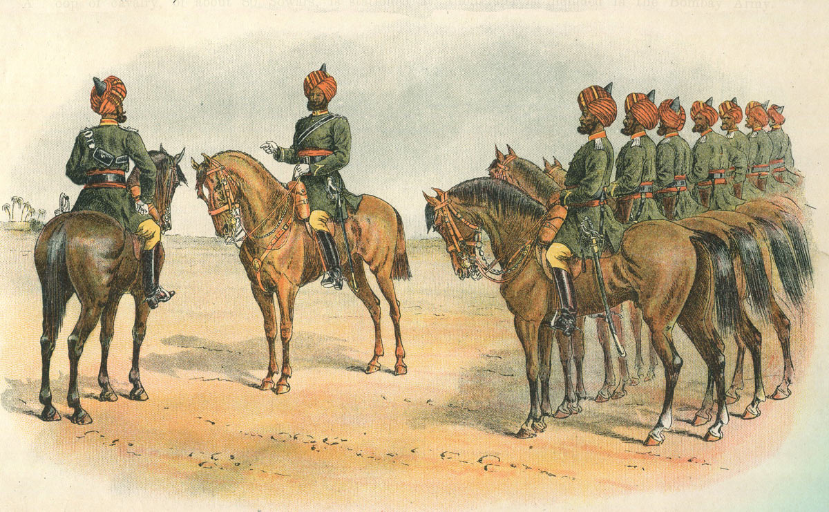 Scinde Horse of the Bombay Army: Battle of Maiwand on 26th July 1880 in the Second Afghan War