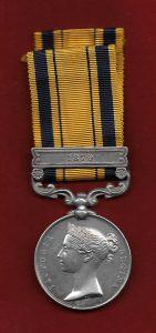 Zuu War Medal: Battle of Isandlwana on 22nd January 1879 in the Zulu War