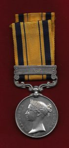 Zulu War Medal: Battle of Gingindlovu on 2nd April 1879 in the Zulu War