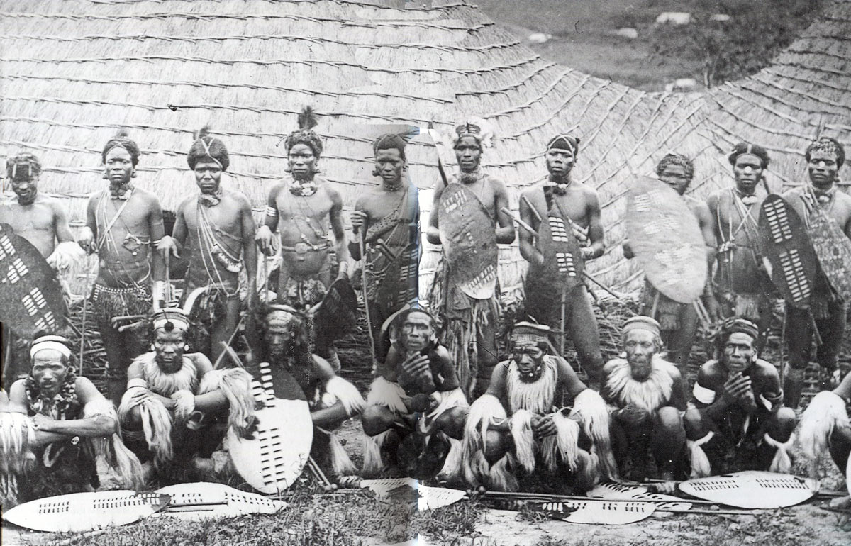 Zulu Warriors: Battle of Gingindlovu on 2nd April 1879 in the Zulu War