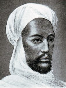 The Khalifa Abdullah-al-Taishi, Mahdist leader at the Battle of Omdurman on 2nd September 1898 in the Sudanese War