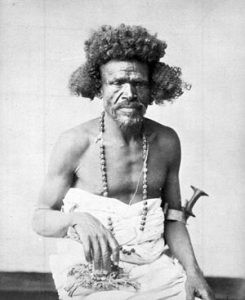 Osman Digna commander of the Mahdists at the Battle of El Teb on 29th February 1884 in the Sudanese War
