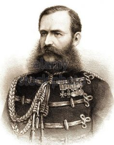 Lieutenant General Sir Frederick Roberts VC, British commander at the Battle of Charasiab on 9th October 1879 in the Second Afghan War