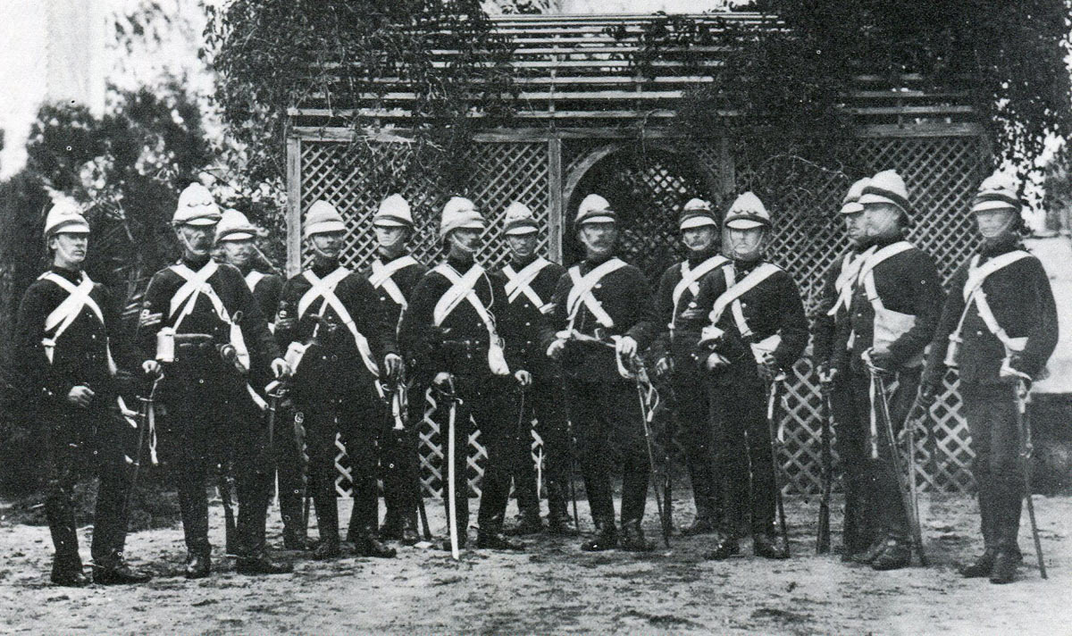 Soldiers of the 19th Hussars: Battle of El Teb on 29th February 1884 in the Sudanese War