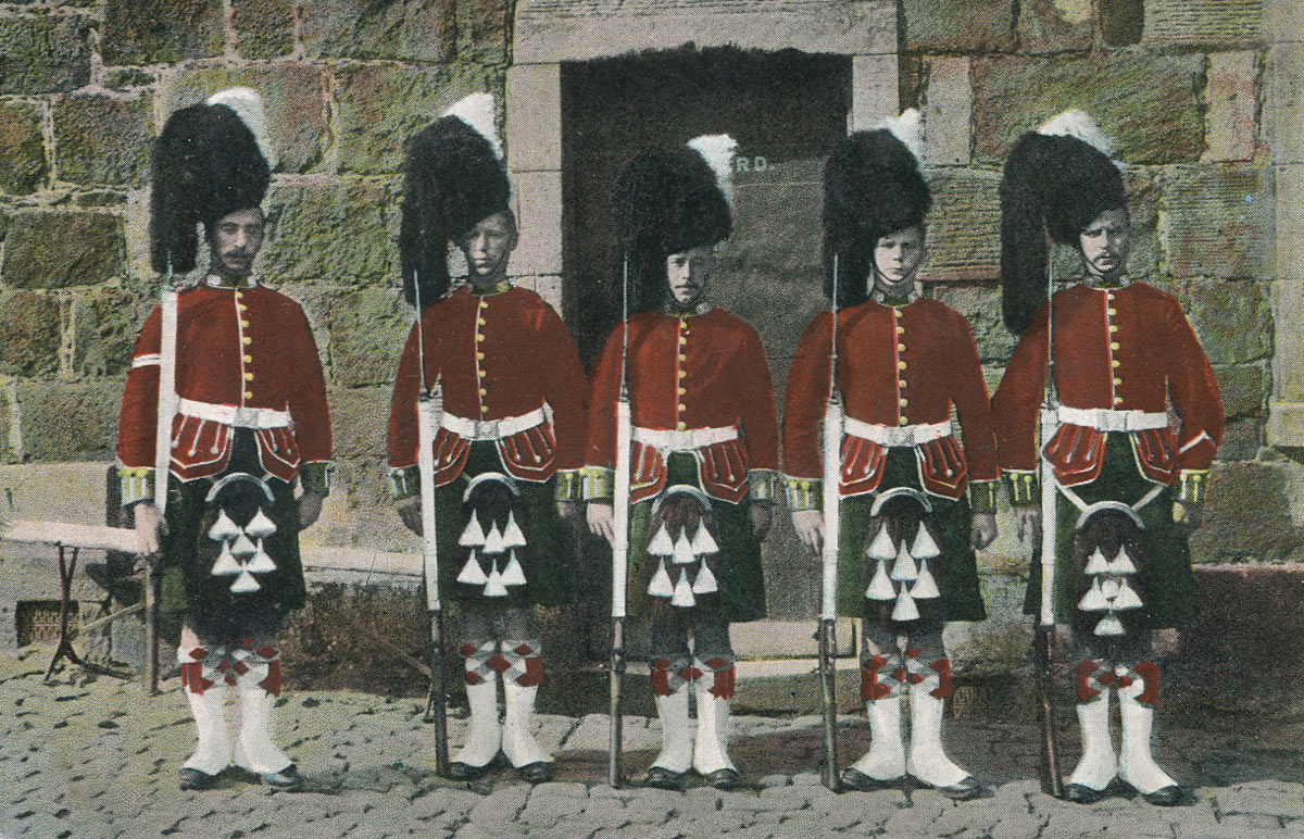 Corporal's Guard of the Argyll and Sutherland Highlanders: Battle of Paardeburg on 27th February 1900 in the Great Boer War