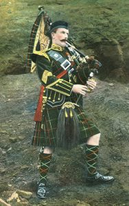 Pipe Major of the Seaforth Highlanders: Battle of Paardeburg on 27th February 1900 in the Great Boer War