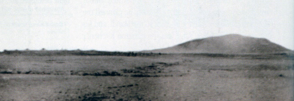 The advancing Dervish line at the beginning of the Battle of Omdurman on 2nd September 1898 in the Sudanese War
