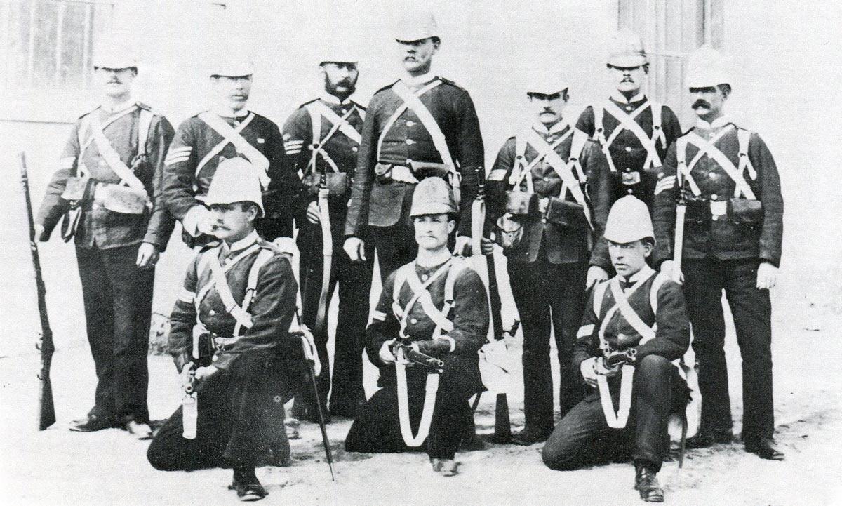 2nd Duke of Cornwall's Light Infantry: Battle of Tel-el-Kebir on 13th September 1882 in the Egyptian War