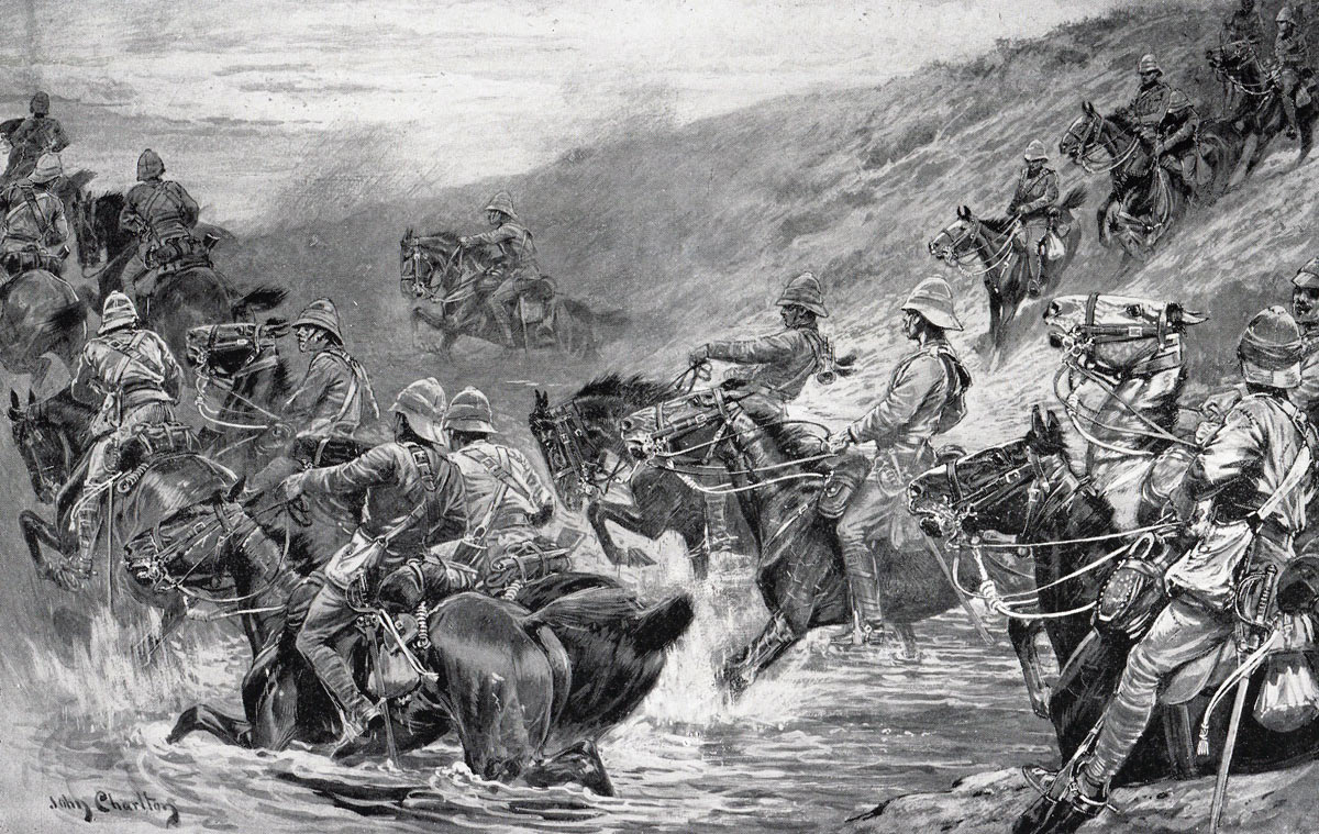French's ride to Kimberley: Battle of Paardeburg on 27th February 1900 in the Great Boer War