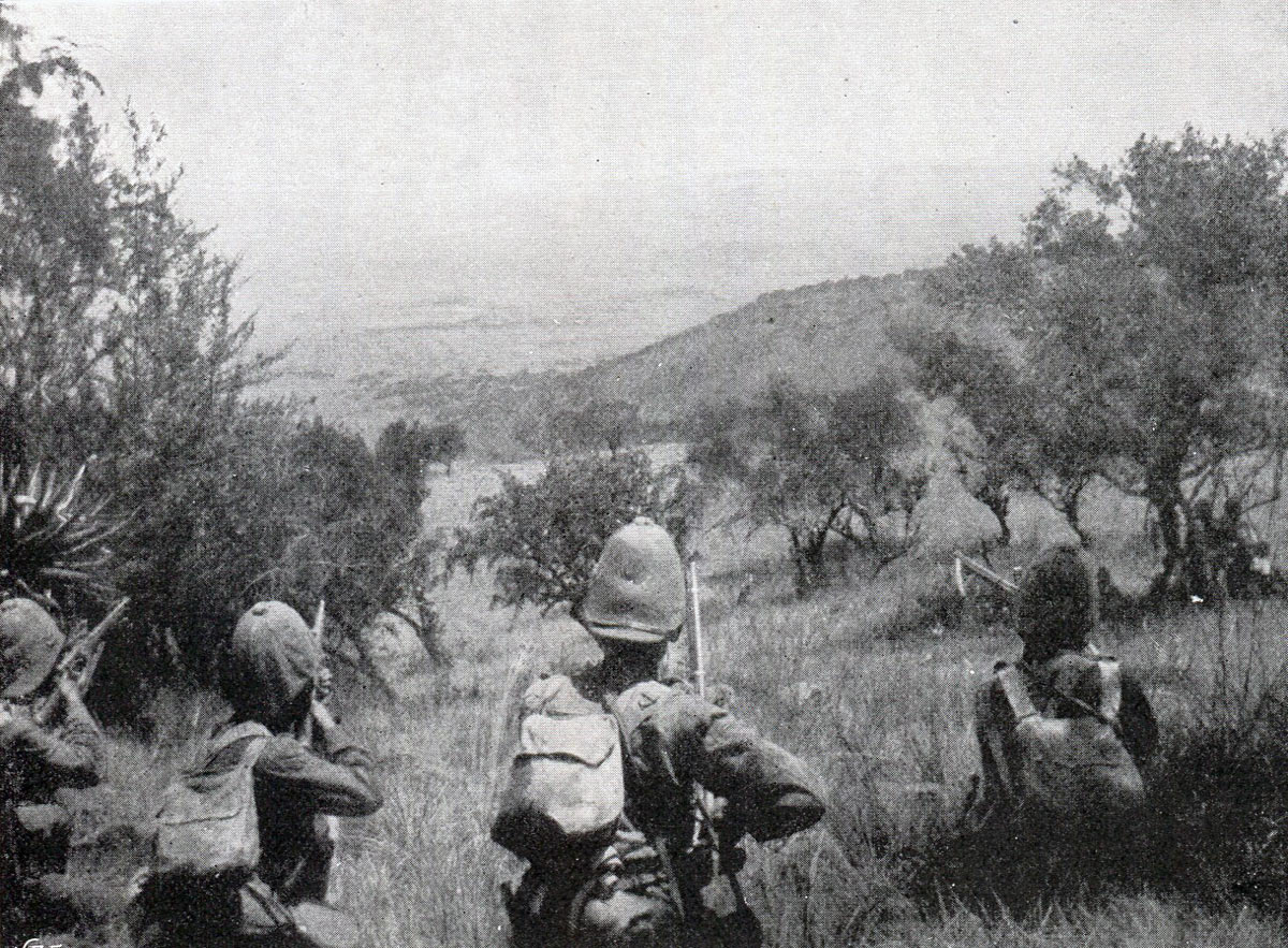West Yorkshires on Monte Cristo: Battles of Val Krantz and Pieters 5th to 28th February 1900 in the Great Boer War