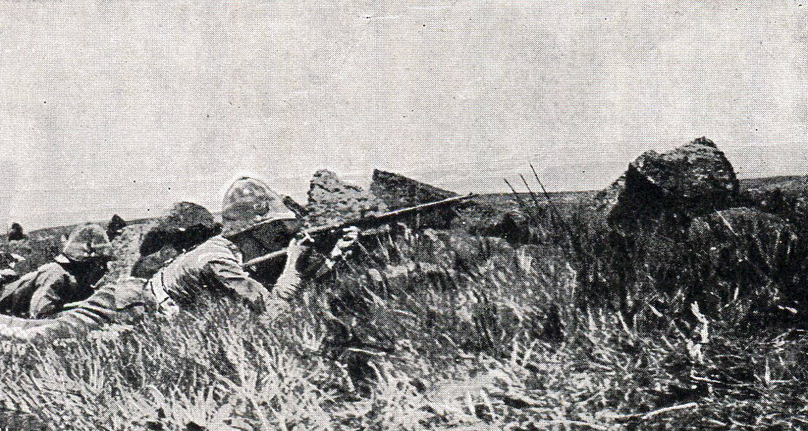 West Yorkshires on Val Krantz: Battles of Val Krantz and Pieters 5th to 28th February 1900 in the Great Boer War