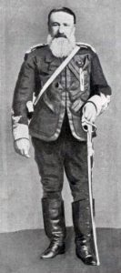 General Piet Joubert, Boer commander at the Battle of Majuba Hill on 27th February 1881 in the First Boer War