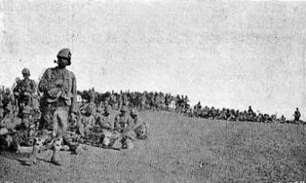 Highland troops: Battle of Omdurman on 2nd September 1898 in the Sudanese War