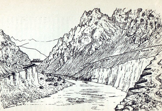 Koragh Defile: Siege and Relief of Chitral, 3rd March to 20th April 1895 on the North-West Frontier of India
