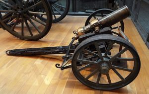 'Wolf'; the gun made by the garrison: Siege of Mafeking 14th October 1899 to 16th May 1900 in the Great Boer War: Firepower Museum