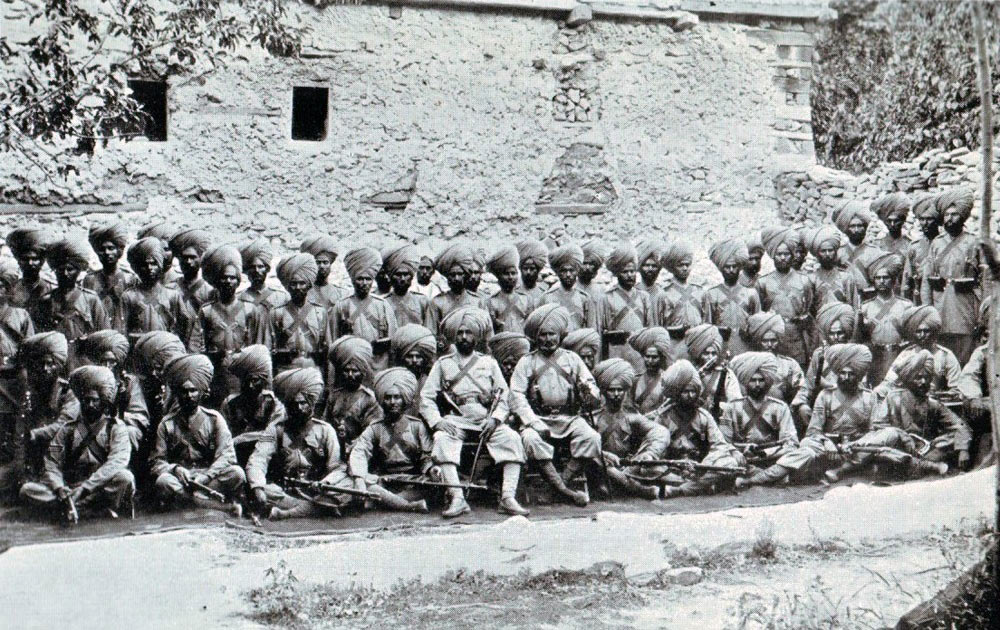 Soldiers of the 14th Sikhs in the Chitral garrison: Siege and Relief of Chitral, 3rd March to 20th April 1895 on the North-West Frontier of India
