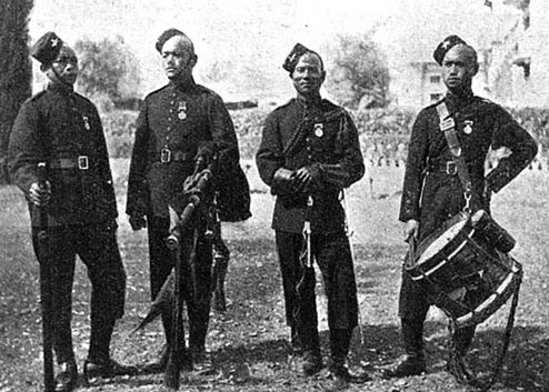 1st Gurkhas: Wana Camp, Waziristan campaign 3rd November 1894 to March 1895 on the North-West Frontier of India
