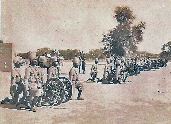 1st Kohat Mountain Battery: Waziristan campaign, 3rd November 1894 to March 1895, on the North-West Frontier of India
