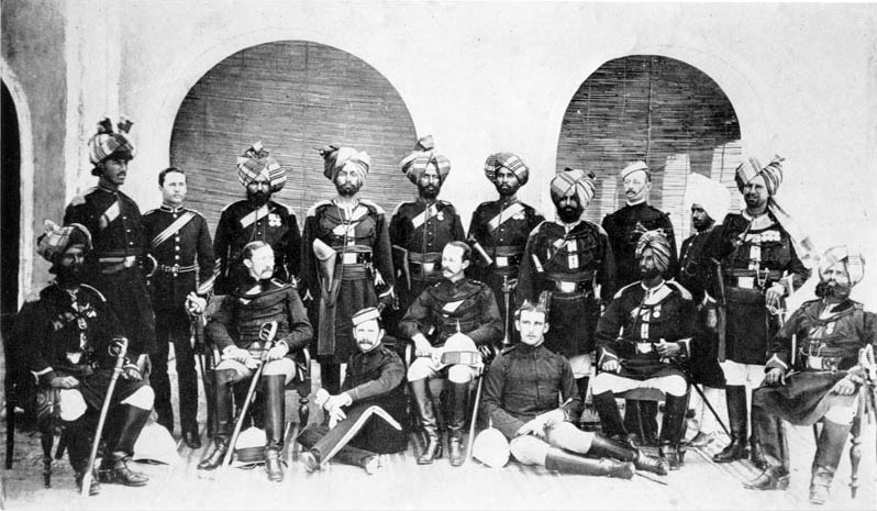 1st Punjab Cavalry: Waziristan campaign, 3rd November 1894 to March 1895, on the North-West Frontier of India