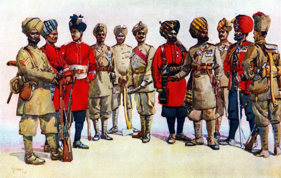 Pioneers of the Indian Army: Siege and Relief of Chitral, 3rd March to 20th April 1895 on the North-West Frontier of India: picture by AC Lovett