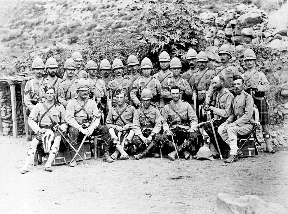 2nd Seaforth Highlanders: Black Mountain Expedition from 1st October 1888 to 13th November 1888 on the North-West Frontier of India
