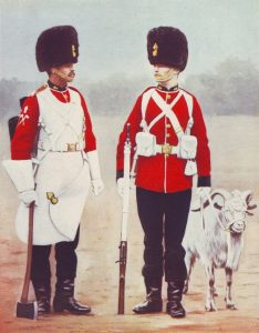 Royal Welch Fusiliers in home service dress: Black Mountain Expedition, 1st March 1891 to 29th May 1891 on the North-West Frontier in India