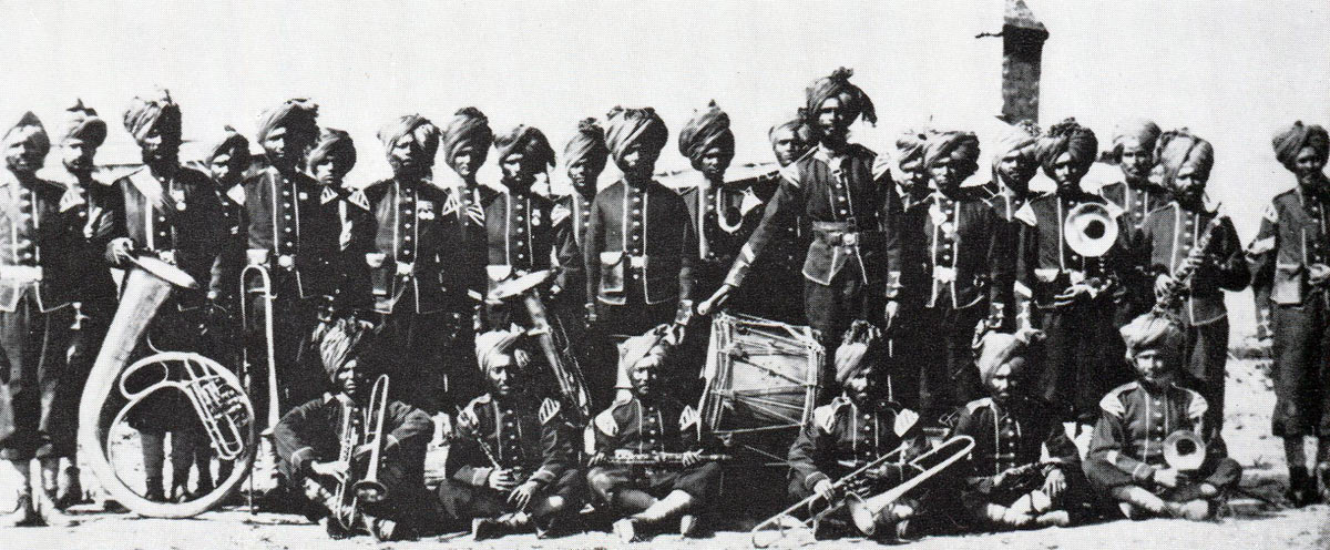Band of the 32nd Sikh Pioneers: Siege and Relief of Chitral, 3rd March to 20th April 1895 on the North-West Frontier of India