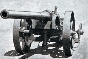 Royal Navy 4.7-inch Gun: Siege of Ladysmith, 2nd November 1899 to 27th February 1900 in the Great Boer War