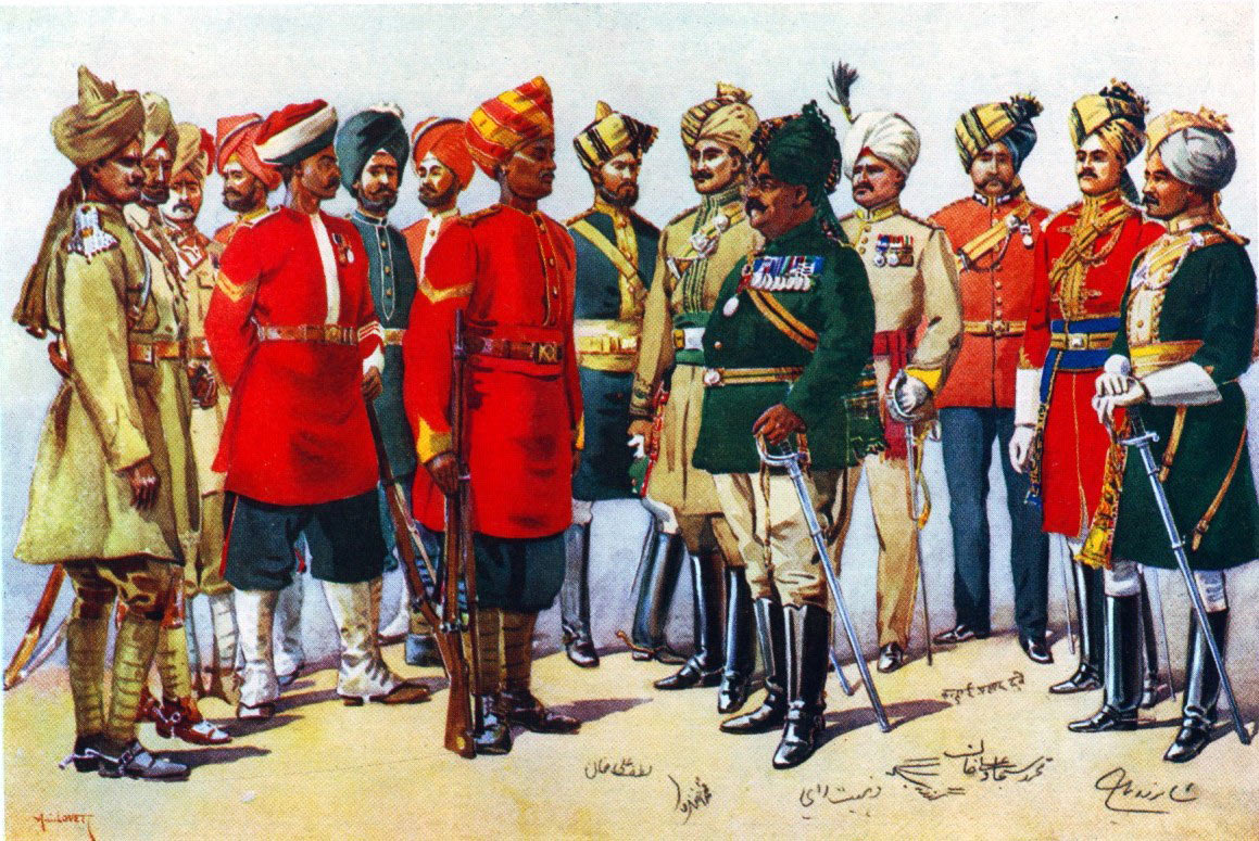 Imperial Service Troops: Black Mountain Expedition, 1st March 1891 to 29th May 1891 on the North-West Frontier in India: picture by AC Lovett