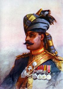 Rissaldar-Major, 11th King Edward's Own Lancers, Probyns: Siege and Relief of Chitral, 3rd March to 20th April 1895 on the North-West Frontier of India: picture by AC Lovett