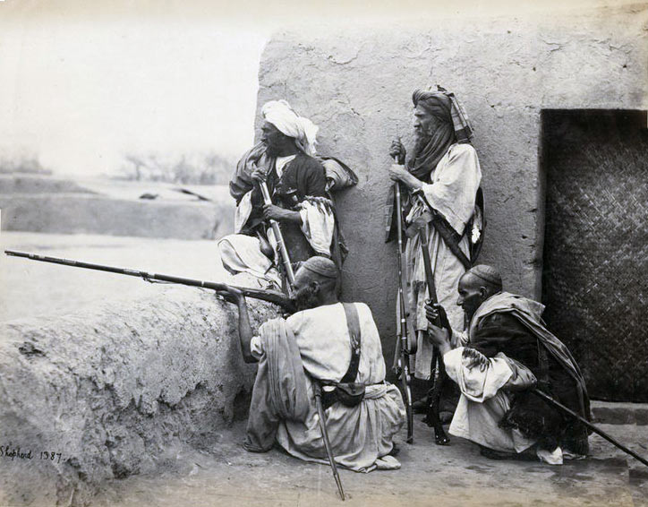Tribesmen: Waziristan campaign, 3rd November 1894 to March 1895, on the North-West Frontier of India